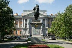 Το μνημείο στο Peter Ι, επιχαλκώνει το ιππικό μνημείο του Peter Στοκ Εικόνες
