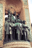 Το μνημείο της Δημοκρατίας στη Ιστανμπούλ Στοκ Εικόνες