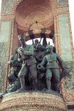 Το μνημείο της Δημοκρατίας στη Ιστανμπούλ Στοκ εικόνες με δικαίωμα ελεύθερης χρήσης