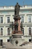 Το μνημείο της Catherine ΙΙ Στοκ Εικόνες