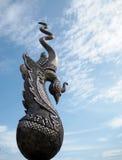 Το μνημείο του βασιλιά Naresuan ο μεγάλος ayutthaya Ταϊλάνδη Στοκ Εικόνες