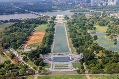 Το μνημείο του Λίνκολν στοκ φωτογραφίες