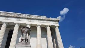 Το μνημείο του Λίνκολν, Washington DC Στοκ φωτογραφία με δικαίωμα ελεύθερης χρήσης