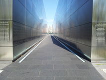 Το μνημείο του 9/11/01 στους κατοίκους NJ έχασε εκείνη την τραγική ημέρα Κρατικό πάρκο ελευθερίας Στοκ Εικόνες