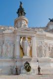 Το μνημείο του Victor Emmanuel ΙΙ στοκ εικόνες