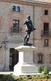 Το μνημείο φορά το Alvaro de bazan, Μαδρίτη Στοκ φωτογραφίες με δικαίωμα ελεύθερης χρήσης