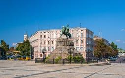 Το μνημείο Bogdan Khmelnitsky Στοκ εικόνες με δικαίωμα ελεύθερης χρήσης