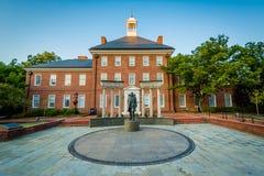 Το μνημείο Thurgood Marshall, σε Annapolis, Μέρυλαντ Στοκ φωτογραφία με δικαίωμα ελεύθερης χρήσης
