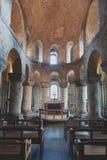 Το μοναδικό Romanesque παρεκκλησι του ST John ο Ευαγγελιστής μέσα στο άσπρο κτήριο πύργων στον πύργο του Λονδίνου, Αγγλία Στοκ Φωτογραφίες