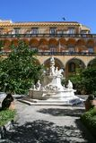 Το μοναστήρι της εκκλησίας SAN Gregorio Armeno Στοκ φωτογραφία με δικαίωμα ελεύθερης χρήσης