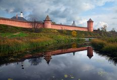 Το μοναστήρι του Σούζνταλ Ρωσία Στοκ Εικόνα