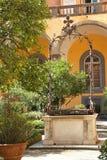 Το μοναστήρι του SAN Gregorio Armeno, Νάπολη Στοκ φωτογραφίες με δικαίωμα ελεύθερης χρήσης
