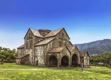 Το μοναστήρι Akhtala στο φρούριο Prnjak Akhtala στο φαράγγι του ποταμού Debed στην περιοχή της Lori στοκ εικόνες
