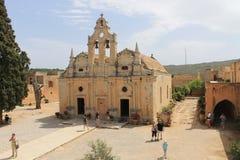 Το μοναστήρι Arkadi στοκ εικόνα