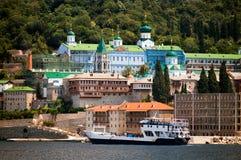 το μοναστήρι athos επικολλά pantele Στοκ Εικόνα