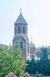 Το μοναστήρι Curtea de Arges, Ορθόδοξη Εκκλησία, υπαίθριο προαύλιο Στοκ εικόνες με δικαίωμα ελεύθερης χρήσης