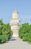 Το μοναστήρι Curtea de Arges, Ορθόδοξη Εκκλησία, υπαίθριο προαύλιο Στοκ φωτογραφίες με δικαίωμα ελεύθερης χρήσης