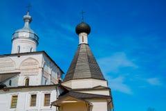 Το μοναστήρι Ferapontov είναι ένα 15-18century Περιοχή Vologda Ρωσία Στοκ Εικόνα