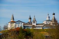 Το μοναστήρι Ferapontov είναι ένα 15-18century Περιοχή Vologda Ρωσία Στοκ εικόνα με δικαίωμα ελεύθερης χρήσης
