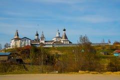 Το μοναστήρι Ferapontov είναι ένα 15-18century Περιοχή Vologda Ρωσία Στοκ εικόνες με δικαίωμα ελεύθερης χρήσης