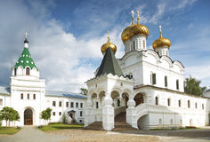 Το μοναστήρι Ipatiev Kostroma Ρωσία στοκ εικόνες