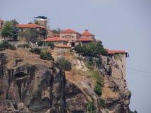 Το μοναστήρι Meteora, Ελλάδα Στοκ φωτογραφία με δικαίωμα ελεύθερης χρήσης