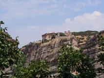 Το μοναστήρι Meteora, Ελλάδα Στοκ εικόνες με δικαίωμα ελεύθερης χρήσης