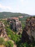 Το μοναστήρι Meteora, Ελλάδα Στοκ Φωτογραφίες
