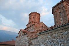 Το μοναστήρι Sveti Naum στη Μακεδονία στοκ εικόνες