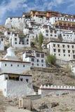 Το μοναστήρι Tiksey είναι ένα βουδιστικό μοναστήρι σε Ladakh, Ινδία, Στοκ Φωτογραφίες