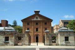 Το μουσείο αποδοκιμασιών του Χάιντ Παρκ που χτίζεται το 1818 στο σπίτι καταδικάζει τα άτομα και τα αγόρια στοκ εικόνα με δικαίωμα ελεύθερης χρήσης