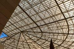 Το μουσείο θεάτρων Caesaraugusta σε Σαραγόσα, Ισπανία στοκ εικόνες