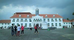 Το μουσείο ιστορίας της Τζακάρτα στοκ εικόνες