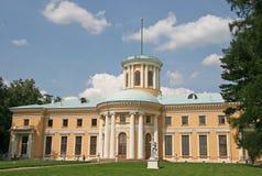Το μουσείο-κτήμα Arkhangelskoye (δέκατος όγδοος αιώνας) εντόπισε περίπου 20 χιλιόμετρα στη δύση από τη Μόσχα Στοκ Φωτογραφία