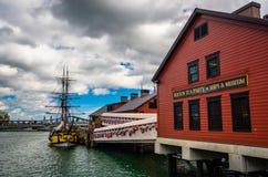 Το μουσείο κόμματος τσαγιού της Βοστώνης, στη Βοστώνη, Μασαχουσέτη Στοκ Εικόνες