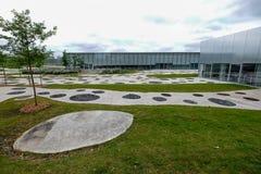 Το μουσείο Λούβρο-φακών Στοκ εικόνα με δικαίωμα ελεύθερης χρήσης