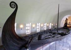Το μουσείο σκαφών Βίκινγκ του Όσλο στοκ εικόνα