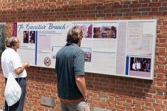 Το μουσείο σπιτιών Presidentâs σε Philly Στοκ Εικόνα