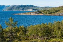 Το μουσείο της κεντρικής Alta τέχνης βράχου παγκόσμιων κληρονομιών Στοκ εικόνες με δικαίωμα ελεύθερης χρήσης