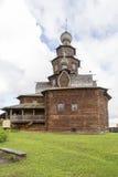 Το μουσείο της ξύλινης αρχιτεκτονικής σε suzdal, Ρωσική Ομοσπονδία Στοκ εικόνα με δικαίωμα ελεύθερης χρήσης