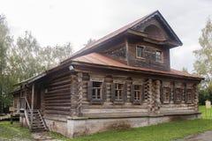 Το μουσείο της ξύλινης αρχιτεκτονικής σε suzdal, Ρωσική Ομοσπονδία Στοκ Εικόνες