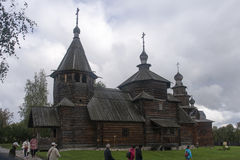 Το μουσείο της ξύλινης αρχιτεκτονικής σε suzdal, Ρωσική Ομοσπονδία Στοκ εικόνες με δικαίωμα ελεύθερης χρήσης