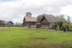 Το μουσείο της ξύλινης αρχιτεκτονικής σε suzdal, Ρωσική Ομοσπονδία Στοκ φωτογραφίες με δικαίωμα ελεύθερης χρήσης