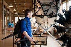 Το μουσείο της πτήσης Στοκ φωτογραφία με δικαίωμα ελεύθερης χρήσης