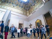 Το μουσείο του Λούβρου στοκ εικόνα