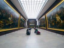 Το μουσείο του Λούβρου στοκ εικόνες