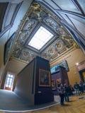 Το μουσείο του Λούβρου στοκ φωτογραφίες