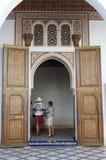 Το μουσείο του Μαρακές Στοκ Εικόνα