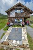 Το μουσείο του υψηλού αλπικού δρόμου Grossglockner στην Αυστρία Στοκ φωτογραφία με δικαίωμα ελεύθερης χρήσης