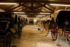 Μουσείο των ζωικών αυτοκινήτων έλξης Στοκ φωτογραφίες με δικαίωμα ελεύθερης χρήσης
